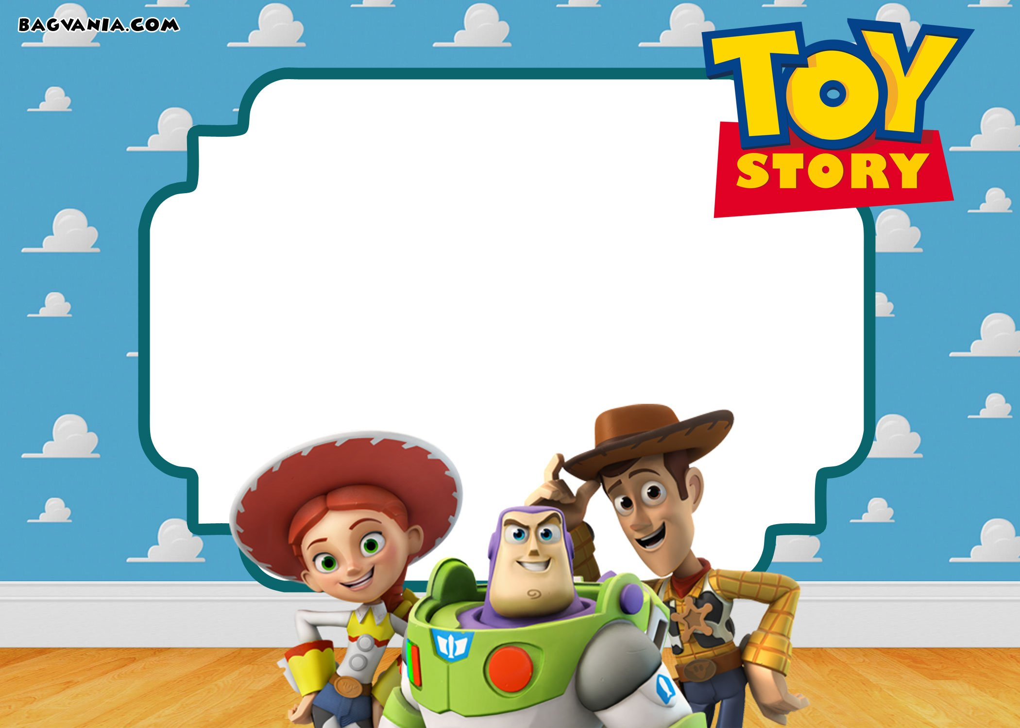 Boy Toys Template : Free printable toy story birthday invitations bagvania