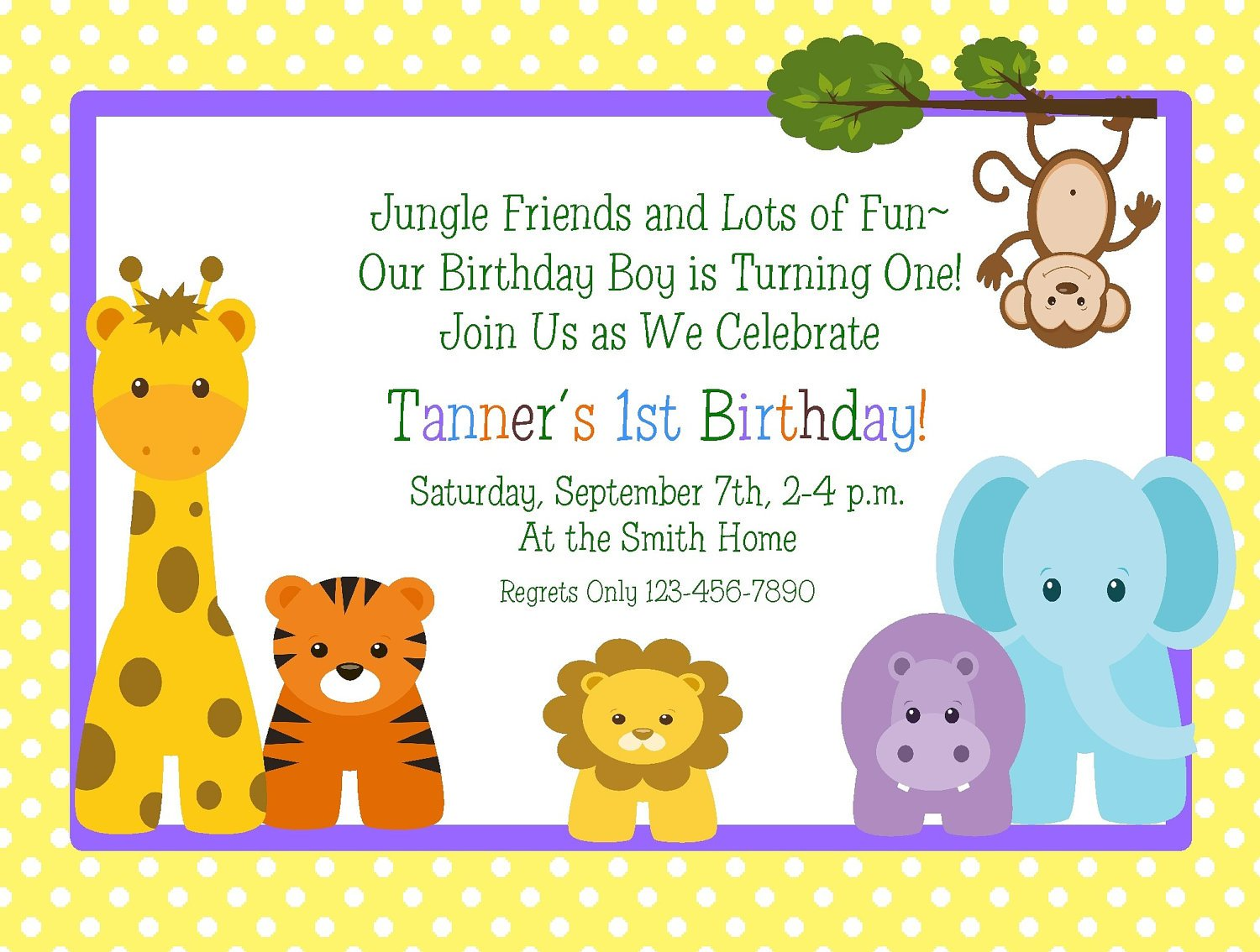 Free Printable Birthday Party Invitation Wording Example – Bagvania ...