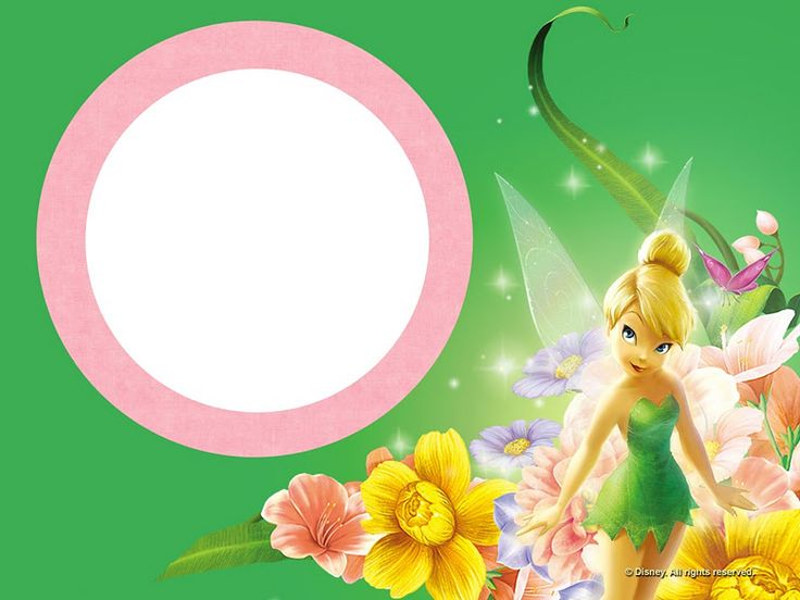 FREE Tinkerbell Birthday Invitations