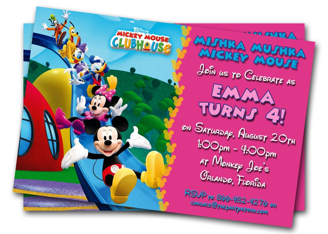 free kids party invitations