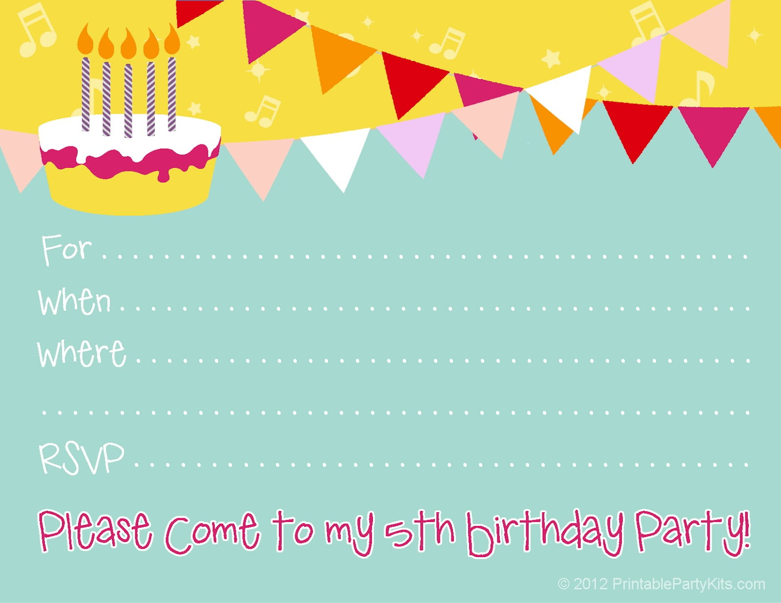 Free birthday party invitations for girl bagvania free printable free birthday party invitations for girl filmwisefo