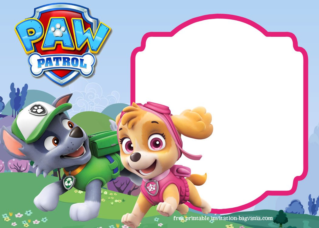 The Right Way To Download This Paw Patrol Birthday Invitation
