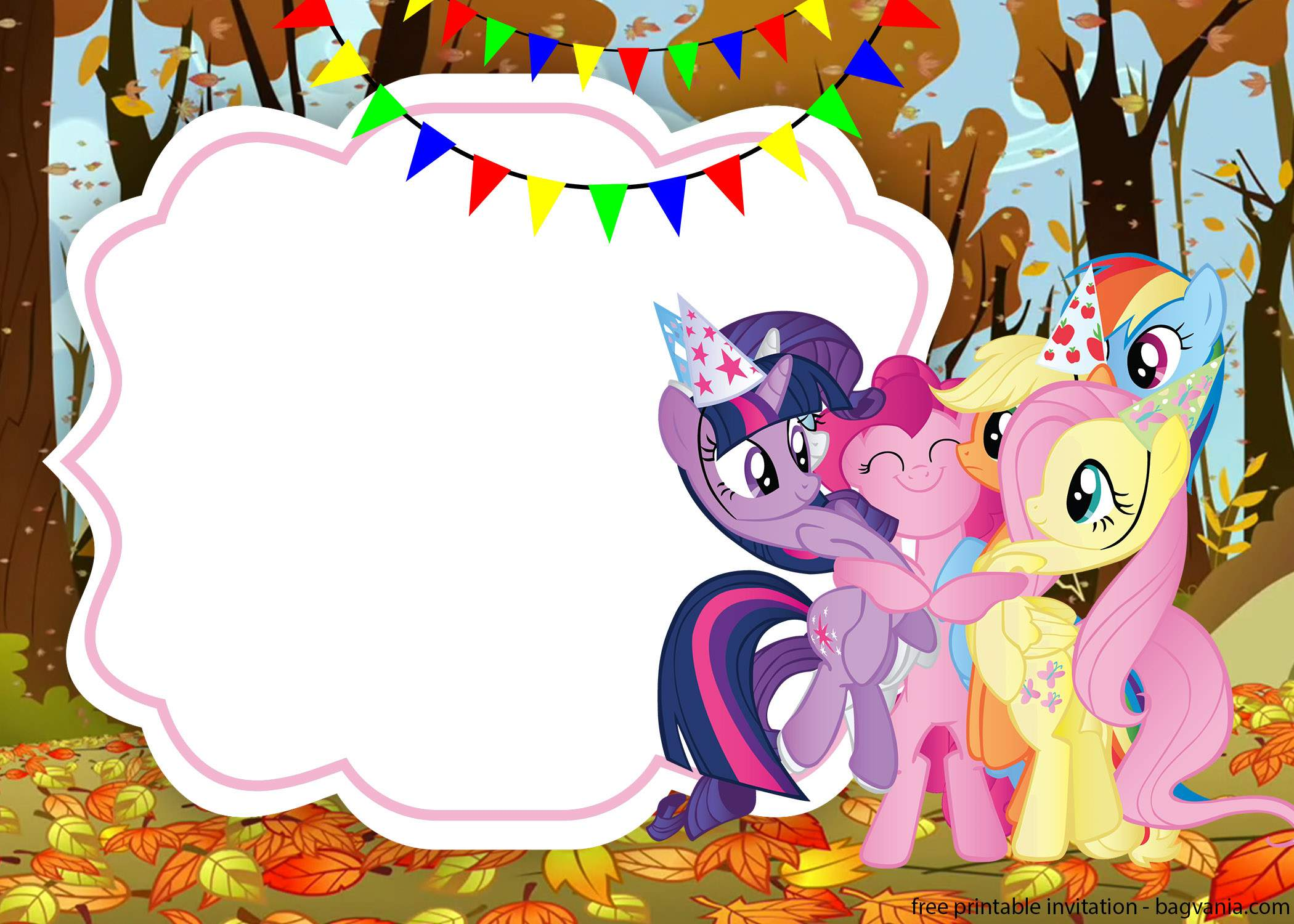 Using My Little Pony As The Main Theme Of Party Will Be Fun And Colorful In Order To Make It Looks Nicer More You Can Add Some Balloons With