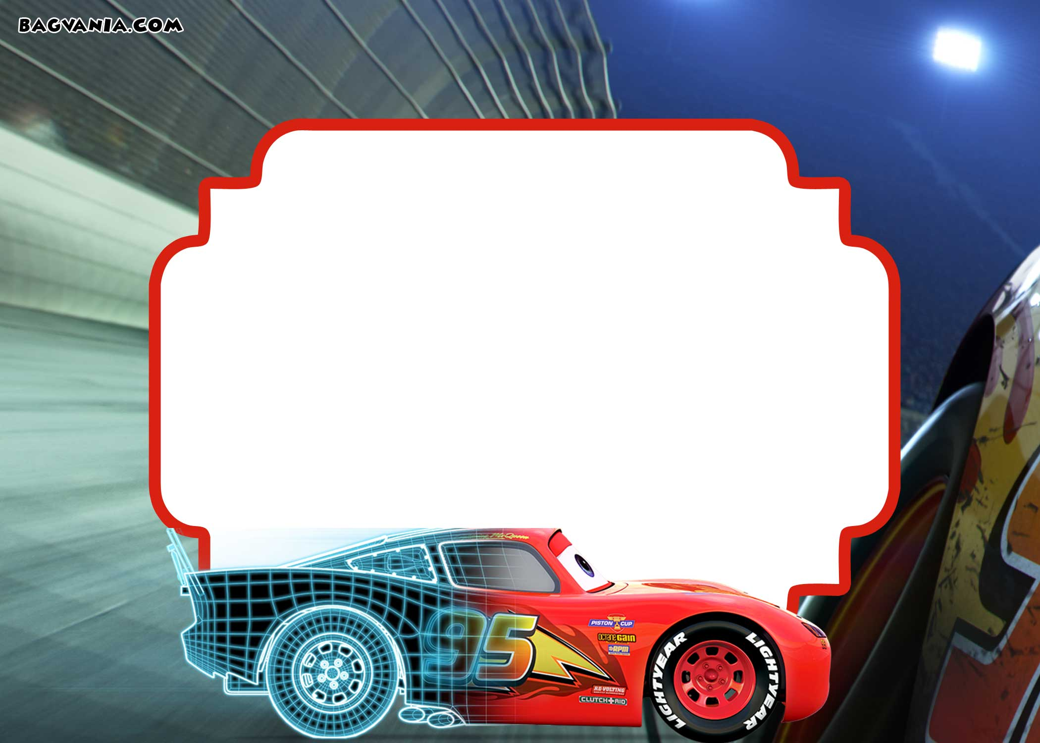 cars 3 invitation template  how to download it  u2013 bagvania