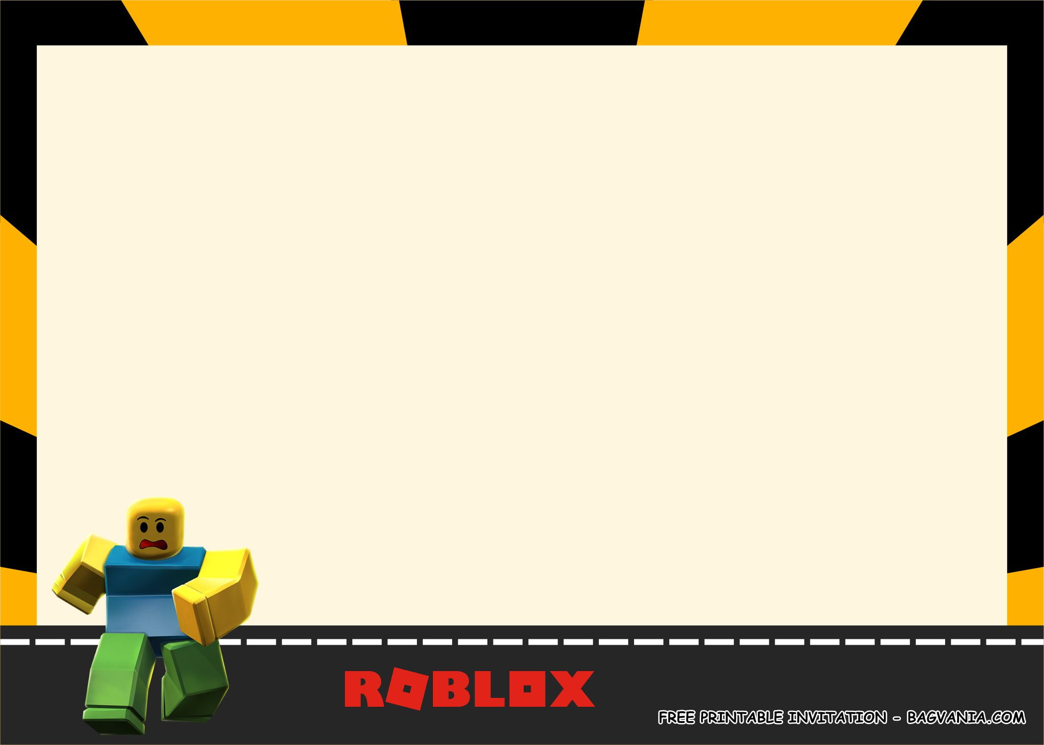 (FREE PRINTABLE) – ROBLOX Birthday Party Kits Template ...