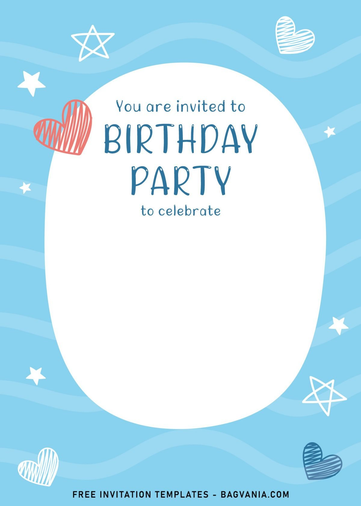 7+ Cute And Fun Birthday Invitation Templates For Kids Birthday Party and has